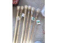 Bamboo candles