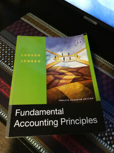Fundamental Accounting Principles. $50 or your Best Offer!