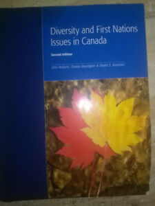 Diversity and First Nations Issues in Canada