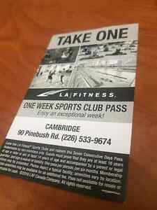 Take advantage of our 7 day pass! Come in and ask for Patrick  Cambridge Kitchener Area image 1