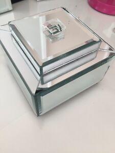 Glass/Mirror Jewlery box 15$