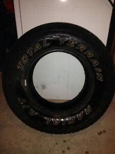 4 MotoMaster Total Terrain A/T Tires P235 75R15