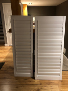 Wooden California Shutters - Just Like New