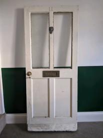Vintage Wood Exterior Door