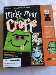 Halloween Craft Kit for kids age 8 and up