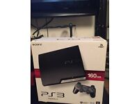 PS3 + Playstation Move + Eye Camera + Move Controller + 7 Games!!