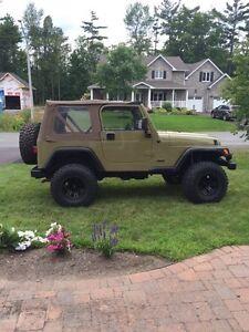 2002 jeep tj MINT!! Very low kms