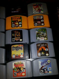 N64 Games For sale New Prices