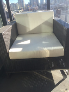 2 Wicker Patio Chairs for Sale - Great Condition - $450 each