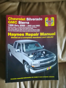 Haynes manual 99-06 chev trucks