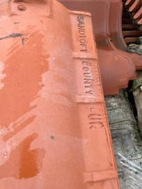 Sandtoft Tuscan clay pan tiles