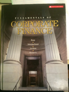 Corporate Finance 9th Edition Author Ross, Westerfield etc.