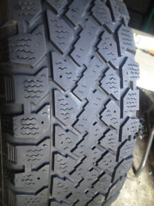 Set of 4 Radial   Winter tires  195/60/15
