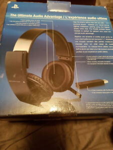 Official Ps4/ps3 wireless headset with mic