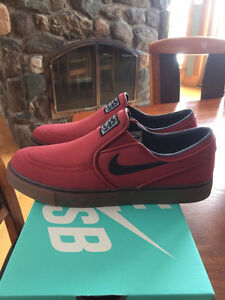 Men's NIKE SB Zoom Stefan Janoski Slip on Canvas