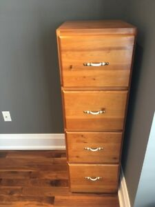 Solid Wood - Chest of Drawers/Filing Cabinet
