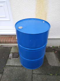 Coleccionismo Professional Sale Empty Oil Barrel Drum 205 Litres 45 Gallon Bbq Incinerator Bin Unused