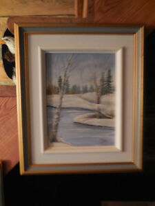 OIL PAINTINGS fWITH PROFESSIONAL FRAMES