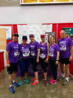 Help beat cancers while training to walk/run a distance event!