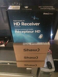 Shaw direct DSR 600 HD receivers brand-new