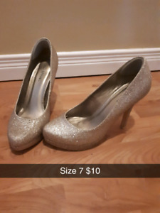 Women's Shoes Sizes & Prices on Pictures