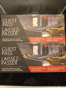 Air Canada Maple Leaf Lounge - 2 Guest Passes