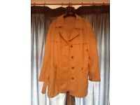 Vintage trench coat mac jacket