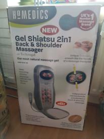 Homedics Shiatsu back and shoulder massager with heat