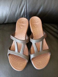 Croc Sandals for Women Sz. 6