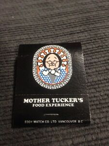 Mother Tucker's Matchbook  Windsor Region Ontario image 1