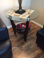 Two end tables and a coffee table!!