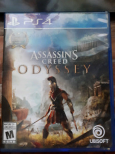 Jeu Assasin's Creed Odyssey au PS4