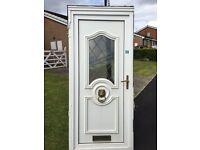 Upvc door & frame