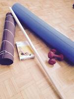 I.T. Band Roller + Yoga Mat Workout Pack