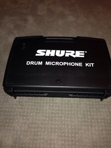Shure 4 piece drum mic kit
