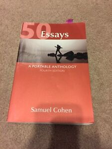 50 Essays, Forth Edition by Samuel Cohen Edmonton Edmonton Area image 1