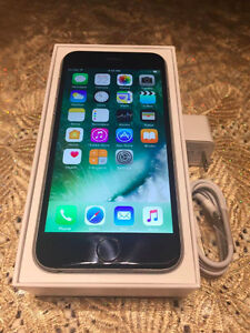 iPhone 6 128GB - Perfect Condition - Rogers - w/Box and Cables