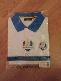 Ryder Cup 2014 Glenmuir Golf T Shirt (BNWT)