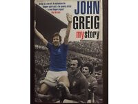 JOHN GREIG MY STORY (SIGNED COPY)