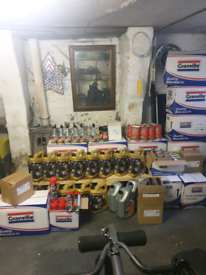 Car motor oil + dpf cleaners and huge Joblot