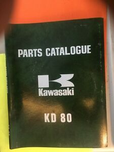 1975 Kawasaki KD80 Parts Catalogue