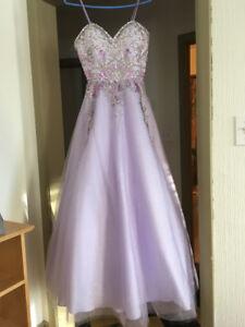 Grad dress size 6-8