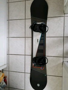 157cm Snowboard and Boots