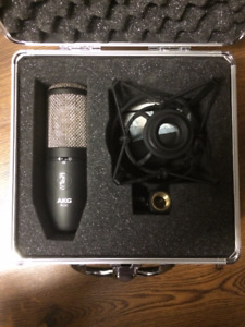 Professional Microphone AKG P420