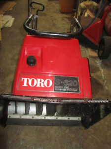 Toro 2 Cycle Snow Blower / In Excellent Running Condition /$225.