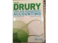 Colin Drury Cost and Management Accounting