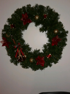 Christmas wreath clearence