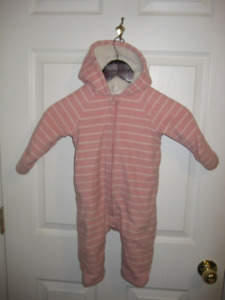 12-18 month Fleece Winter Suit
