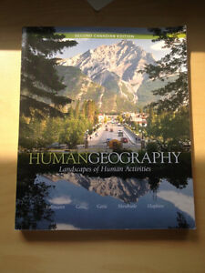 Human geography landscapes of human activities second Canadian