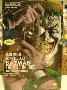 Batman The Killing Joke deluxe edition comicStill in plastic
